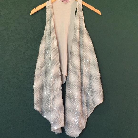 Calypso St. Barth Jackets & Blazers - Beautiful Sequin Vest!